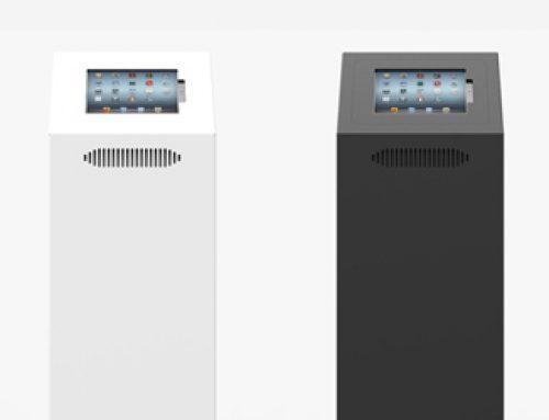 Pressebericht | Neue savepad Tablet-Stele im formschönen Design