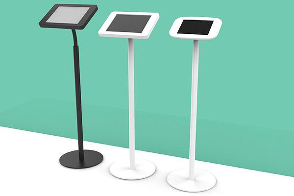 iPad Bodenständer und iPad Standfuß mit Diebstahlsicherung